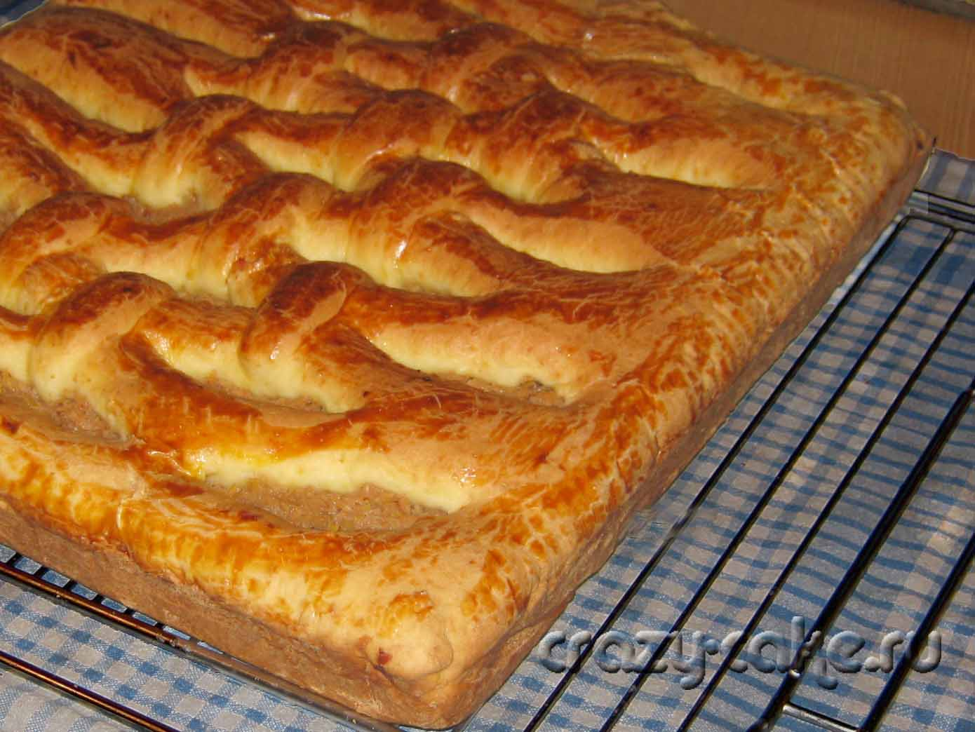 Яблочный пирог на кефире пошаговое фото