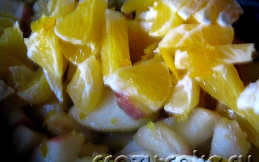 Начинка из яблок и апельсинов для пирогов